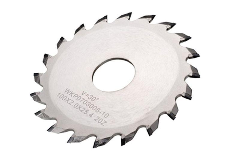 v-cut blade